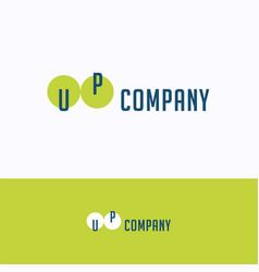 Up company logo vector
