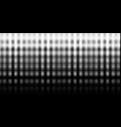 white vertical gradient halftone dots background vector image