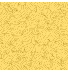 Abstract wavy seamless vector image vector image