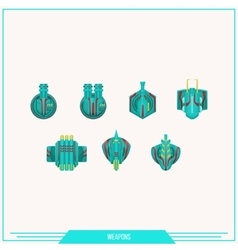 Game element weapons vector