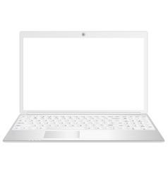 a black laptop realistic vector image