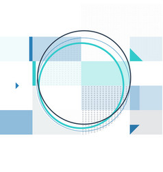 abstract geometric background in minimalist style vector image