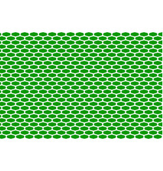 Abstract pattern white net on green vector