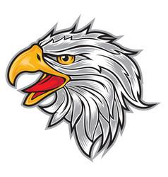 Head eagle logo usa america vector