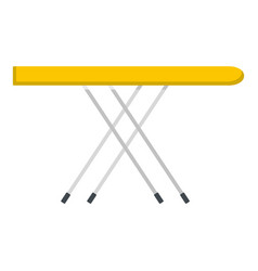 Ironing board icon isolated vector