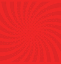 Red background with swirl vector
