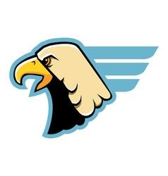 Simple Eagle Head vector image