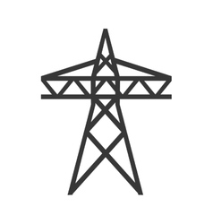 tower electricity energy design vector image