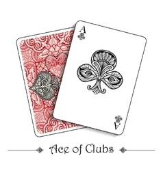 Playing cards concept vector