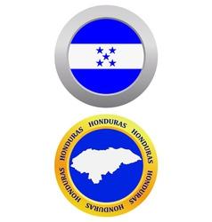 button as a symbol HONDURAS vector image vector image
