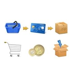 Digital Goods Selling vector image vector image