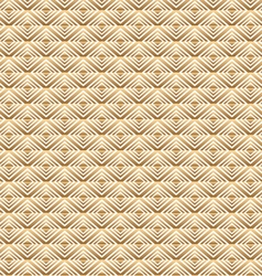 Gold square pattern vector