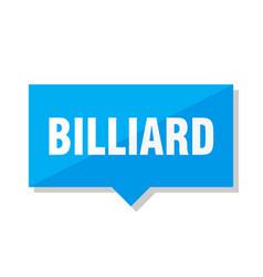 Billiard price tag vector