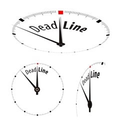 Deadline Clock vector