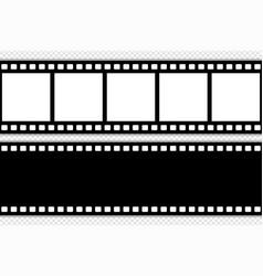 Film strip template vector
