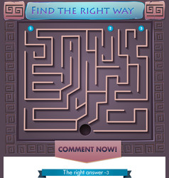 Find the right way Greece 2 vector