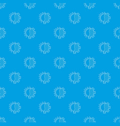 Hot cold pattern seamless blue vector