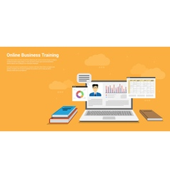 online training vector image