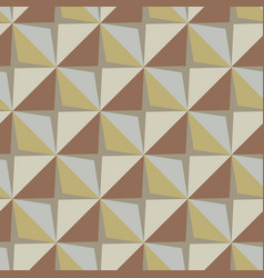 Papper stickers cut-out tile retro beige vector