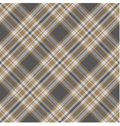 Plaid pattern seamless check fabric texture vector
