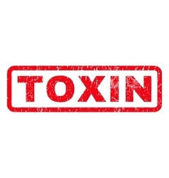 Toxin Rubber Stamp vector image