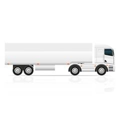 truck 04 vector image