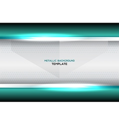 Turquoise background template vector