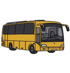 Yellow bus vector