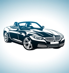 King of sport cars vector image vector image