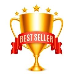 Best Seller Award vector image