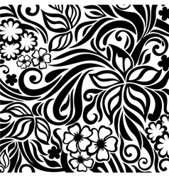 Excellent floral background vector image vector image