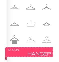 hanger icons set vector image