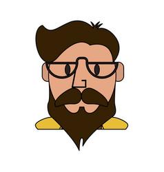man cartoon icon image vector image vector image