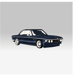 Classic luxury car vector