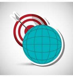 Digital marketing design technology icon vector