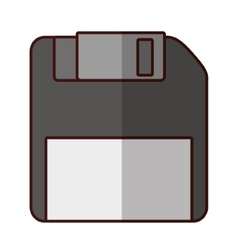 Diskette storage technology vector