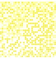 light yellow pixel background vector image