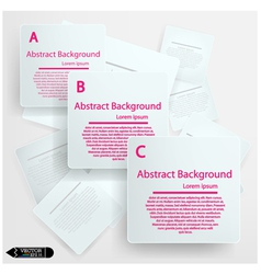Minimal style infographic template vector