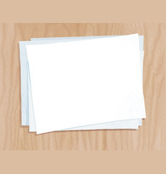paper sheets vector image