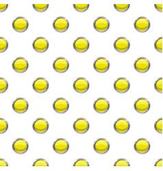 Round button pattern vector