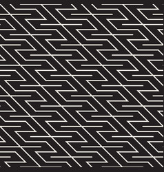 seamless stylish pattern simple abstract vector image
