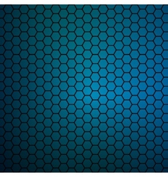simple colorful background consisting hexagons vector image