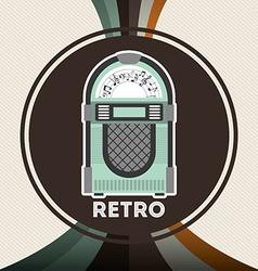 retro device vector image