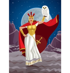 Athena vector image vector image