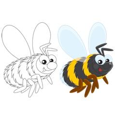 Bumblebee vector