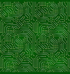computer motherboard background vector image