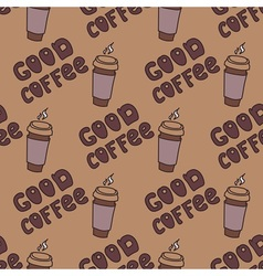 Good coffe vector image