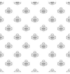 lingerie female pattern seamless vector image
