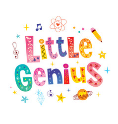Little genius vector