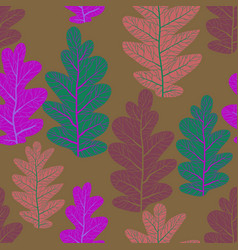 natura leaves pattern vector image